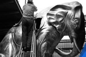Skellerns Artwork - Elephant