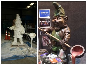 Skellerns Artwork - Gnome Sculpture