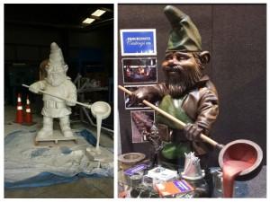 Skellerns Artwork - Gnome Sculpture