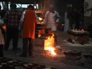 Skellerns Foundry - Metal Casting Process