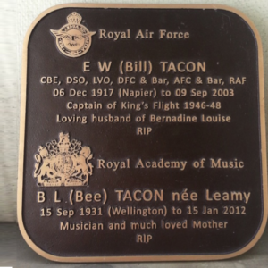Memorial Tribute with Curved corners (Tacon)